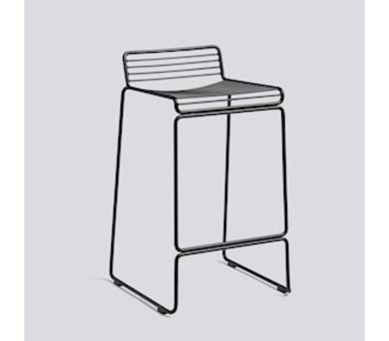 Hee bar stool H 65cm Black