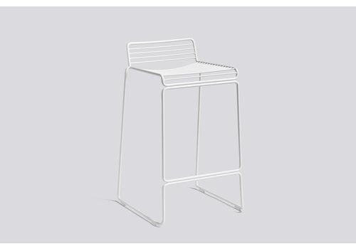 HAY Hee bar stool H 65cm White