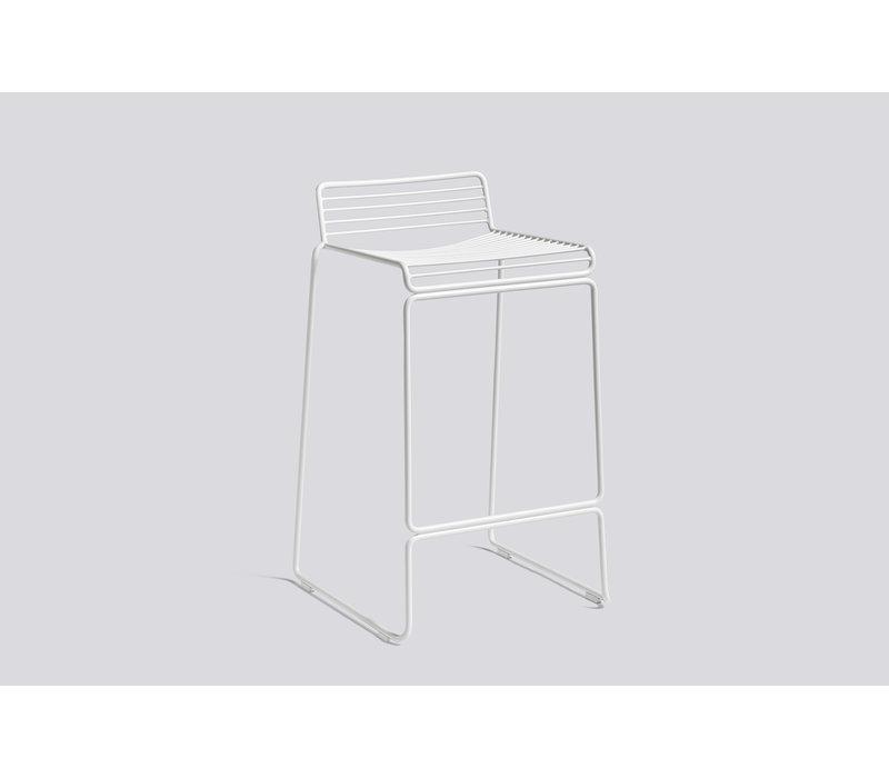Hee bar stool H 65cm White