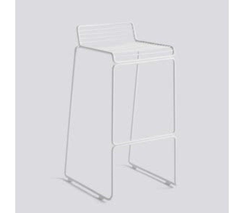 Hee bar stool H 75 cm White