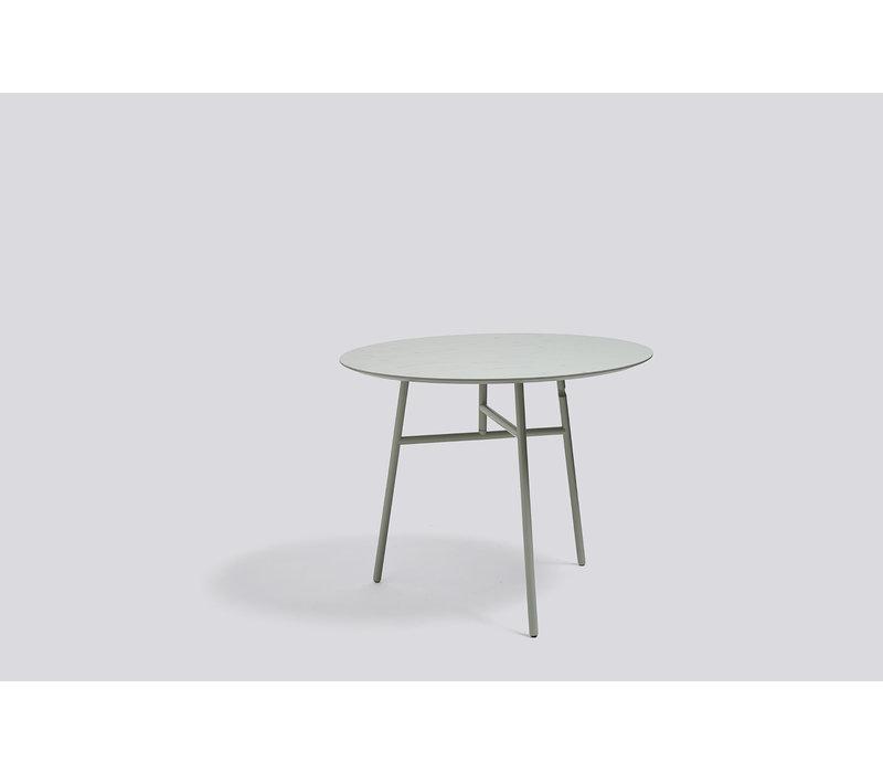 Tilt Top Table Green stained ash veneer
