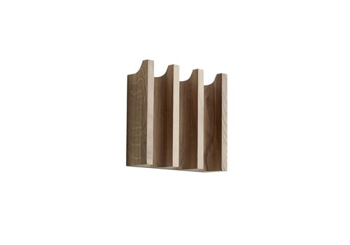 Kristina Dam Studio Column coat rack - Oak - 20cm x 5,5cm x 18cm