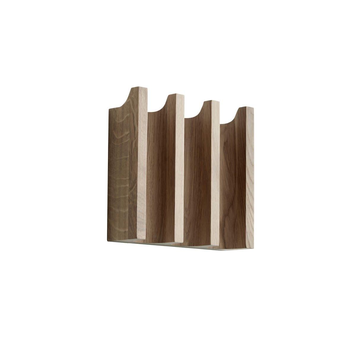 Column coat rack - Oak-1