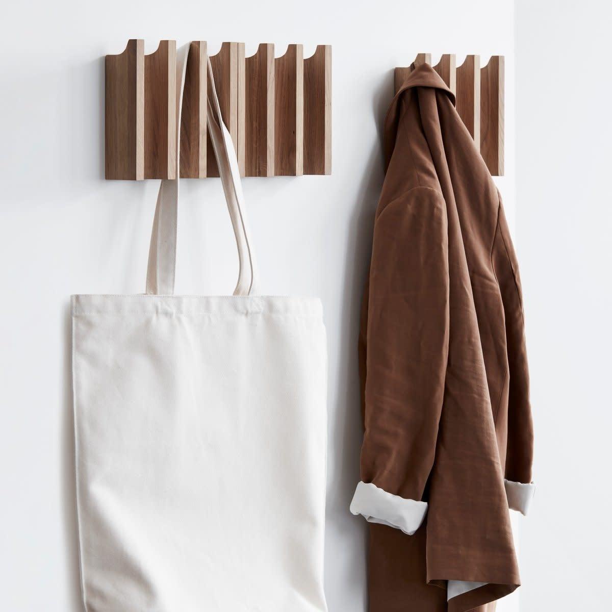 Column coat rack - Oak-2