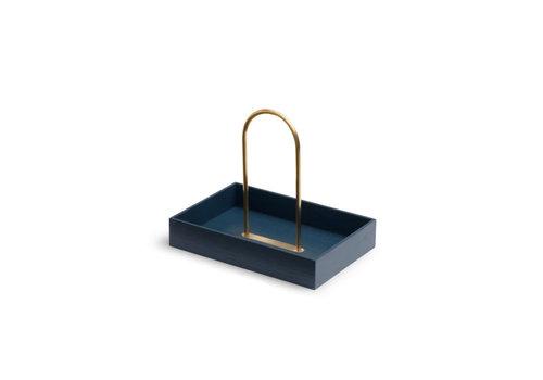 Skagerak Norr Box oak/brass blue