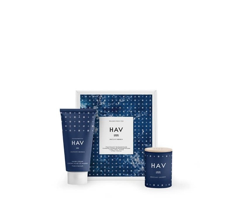 Cadeauset - HAV - minikaars & handcrème