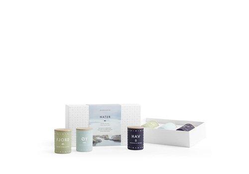 Skandinavisk Gift set - NATUR - mini