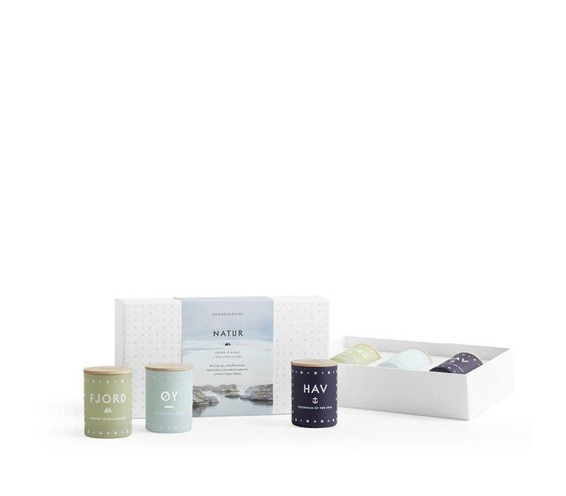Cadeauset - NATUR - mini