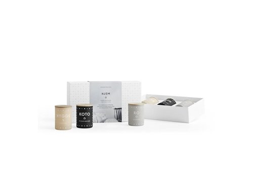 Skandinavisk Gift set - HJEM - mini