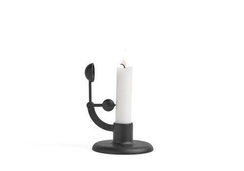 HAY Moment candleholder - Black