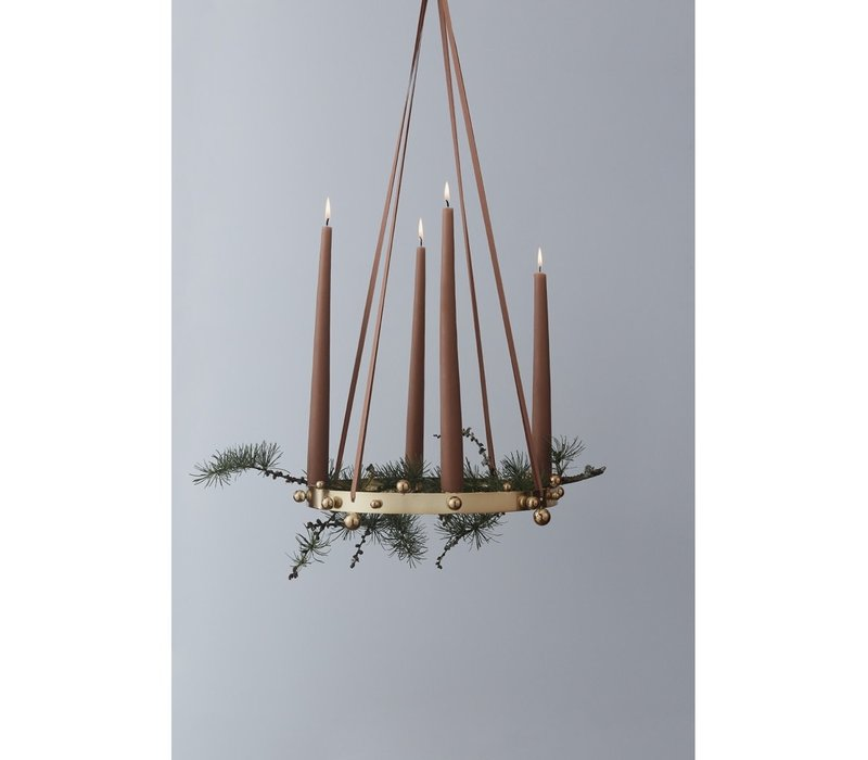 Pearl Advent Candleholder