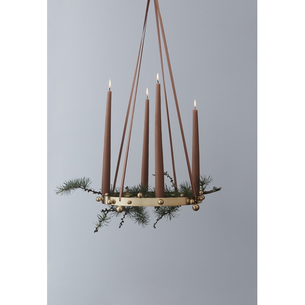 Pearl Advent Candleholder-2