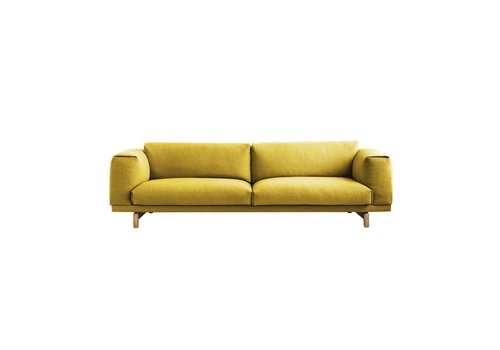 MUUTO REST sofa - 3-seater - Oak base -