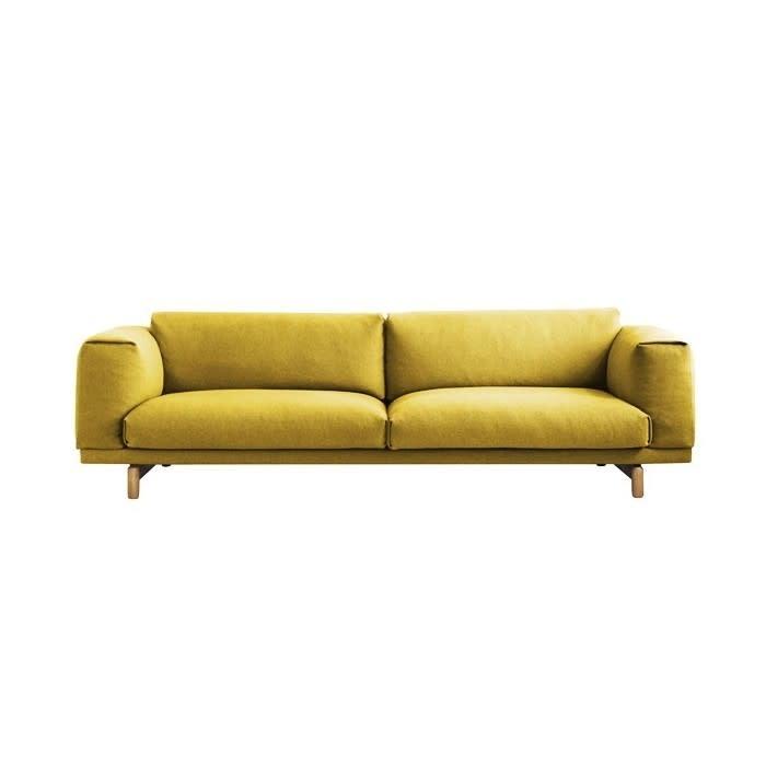 REST sofa - 3-seater - Oak base --1
