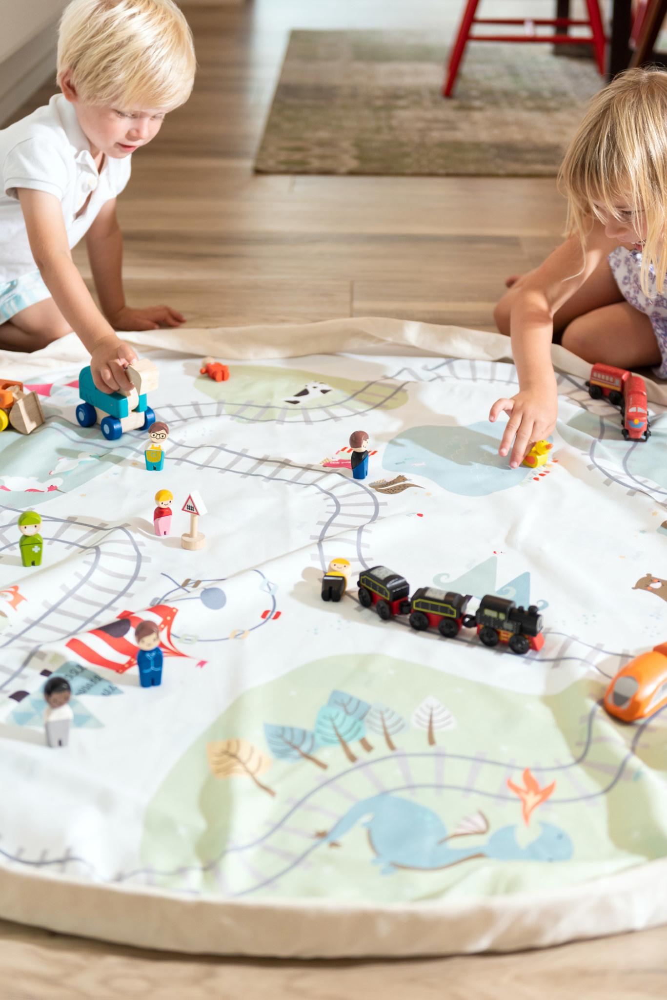 Play & Go - Trainmap / Bears-3