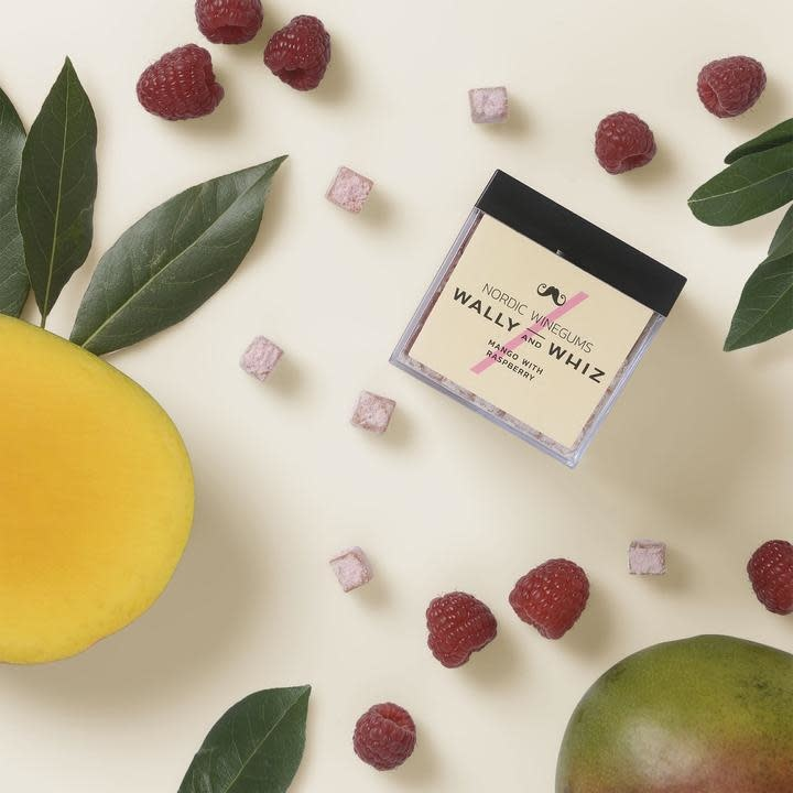 Mango with Raspberry-2