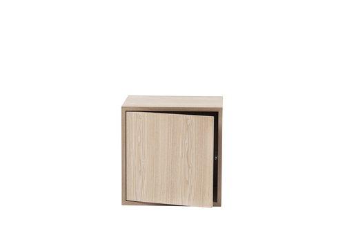 MUUTO Stacked 2.0 - M - with door - oak