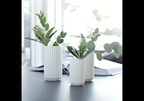 Lyngby vase - white porcelain