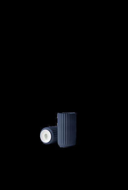 Lyngby vase - midnight blue porcelain