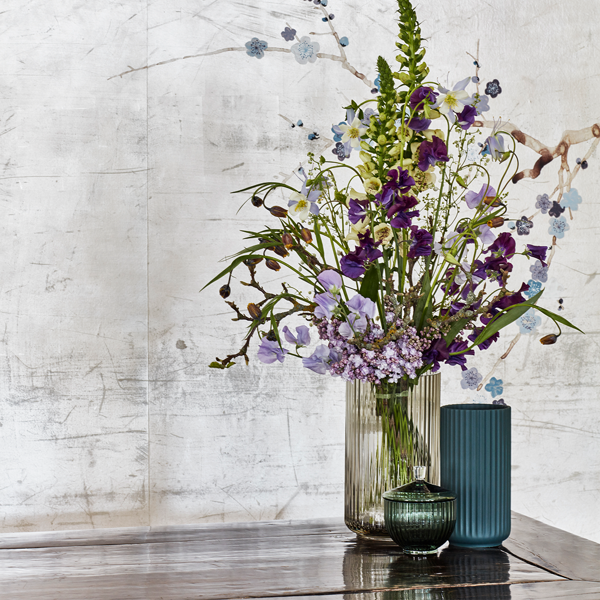 Lyngby vase - Copenhagen green procelain-2