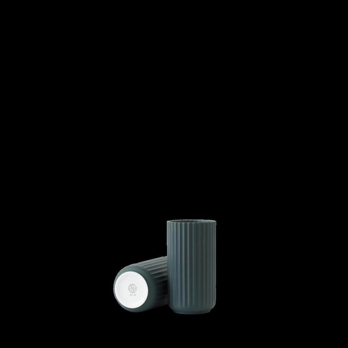 Lyngby vase - Copenhagen green procelain-1