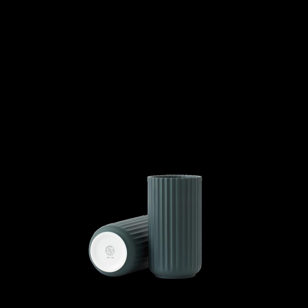 Lyngby vase - Copenhagen green procelain-3