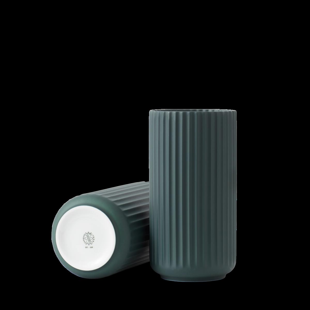 Lyngby vase - Copenhagen green procelain-5