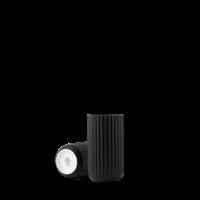 Lyngby vase - black porcelain