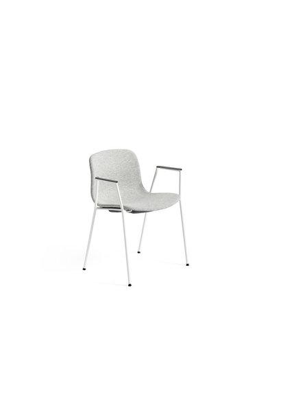 AAC19 - White powder coated steel