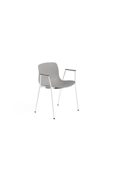 AAC18 - White powder coated steel