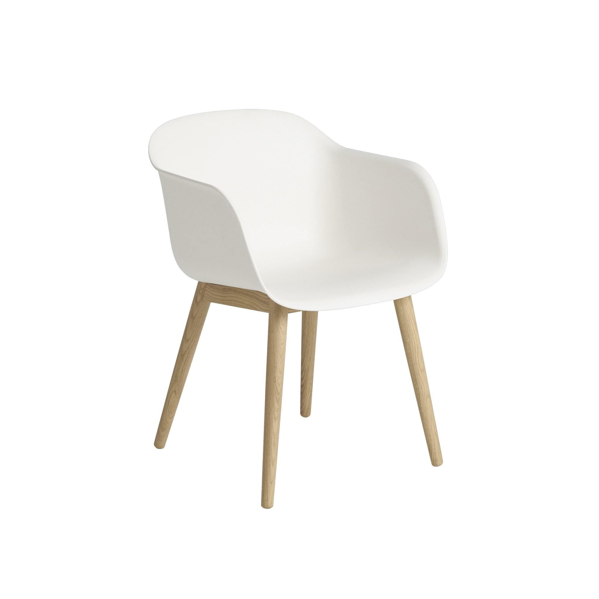 Fiber armchair wood base-1