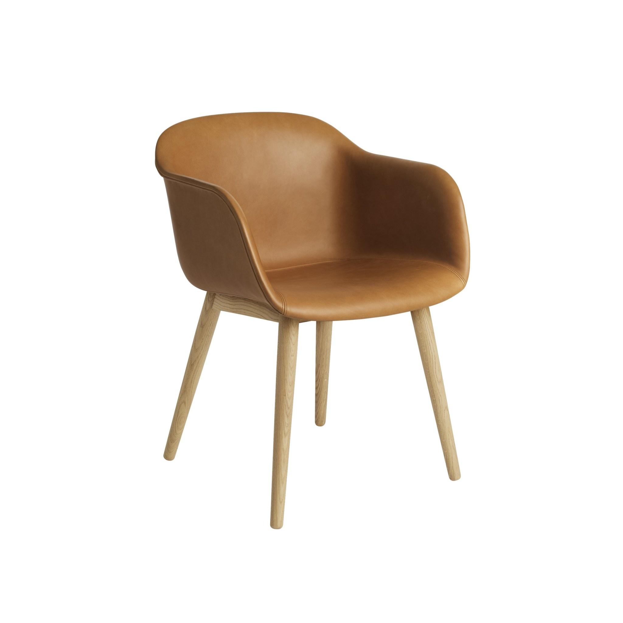 Fiber armchair wood base-4