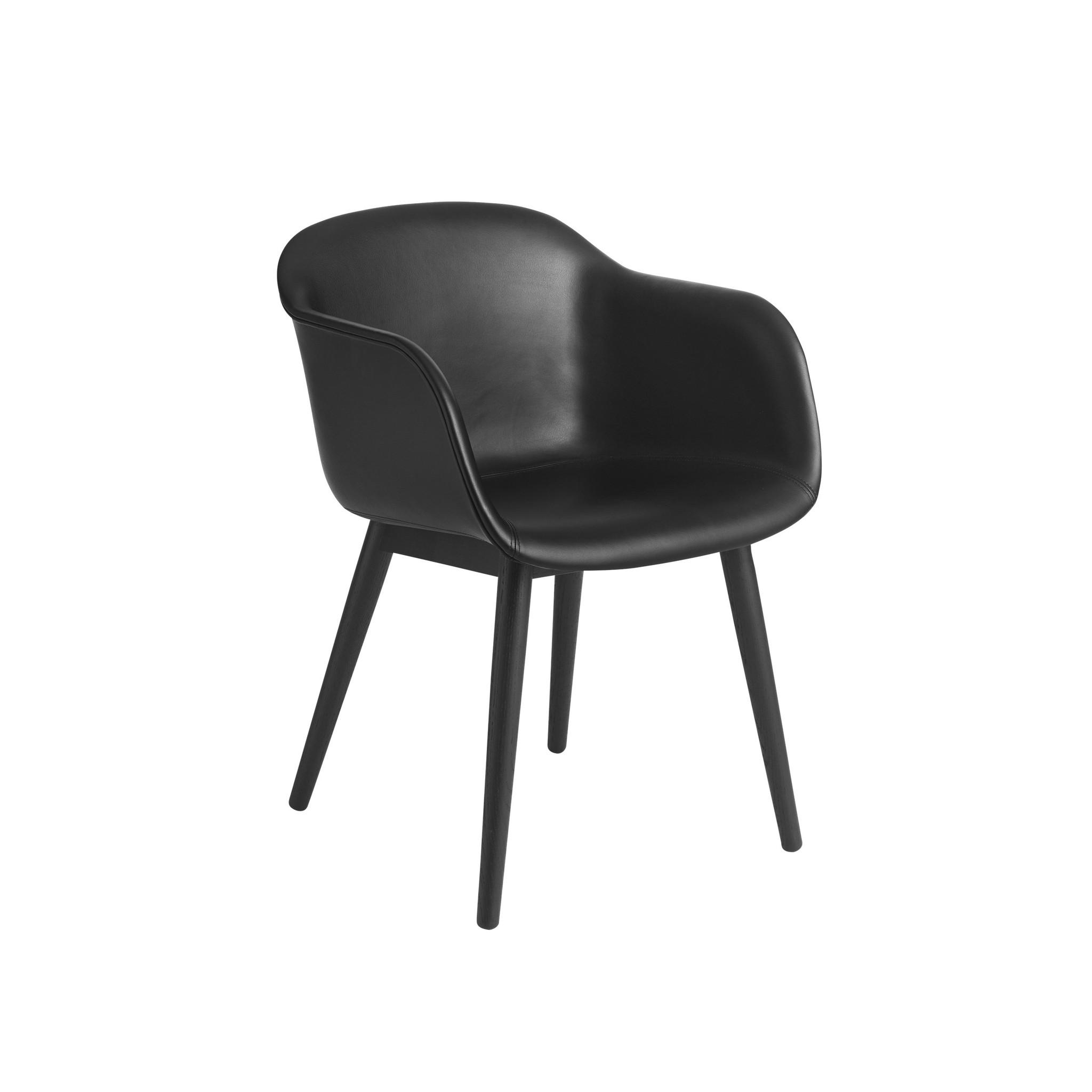 Fiber armchair wood base-5