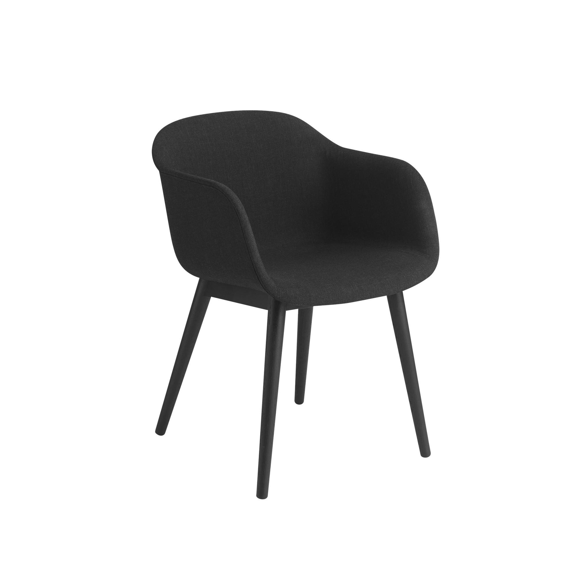 Fiber armchair wood base-10