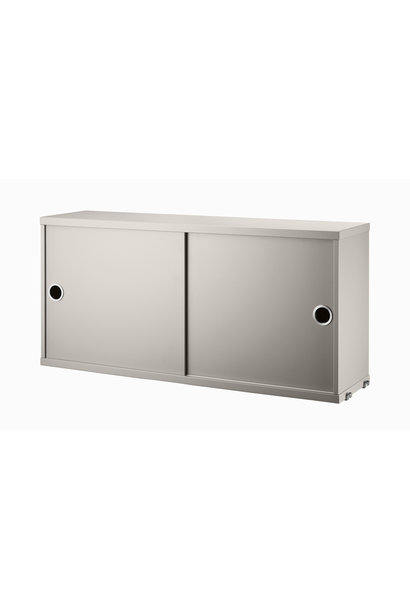 Cabinet with sliding doors String - 1 pack