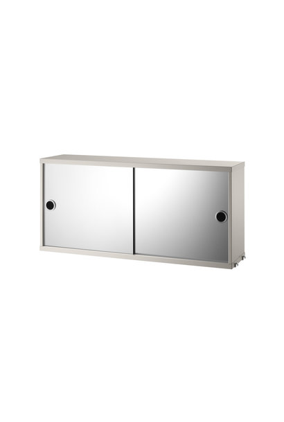 Cabinet with mirror doors String - 1 pack