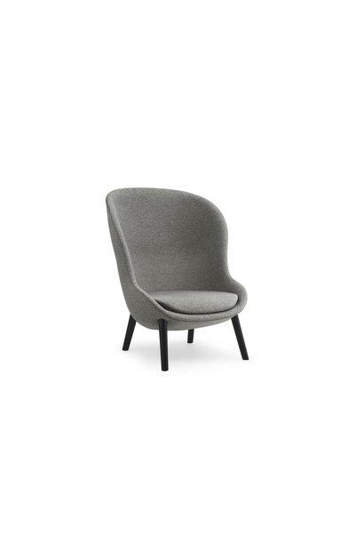 Hyg lounge chair high - oak