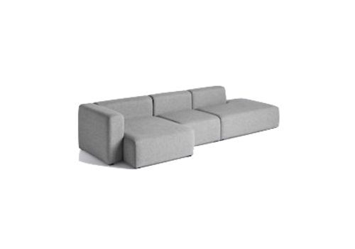 HAY Mags 3 seater combination 4 - Left armrest