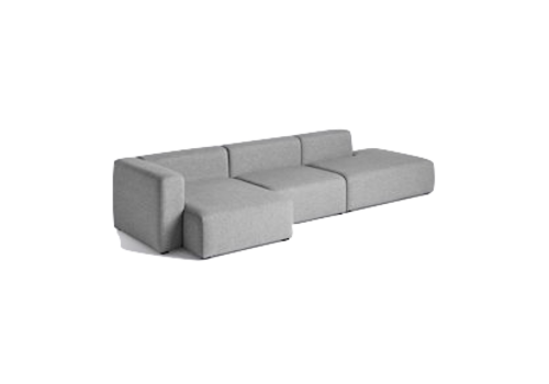 HAY Mags 3 seater combination 5 - Left armrest