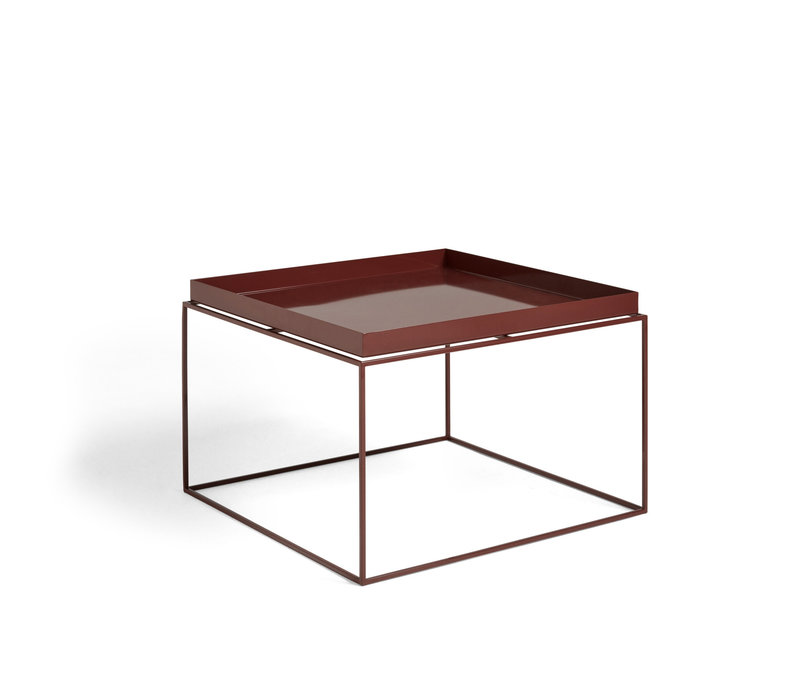 Tray table  Bijzettafel met dienblad 60 x 60 x 39