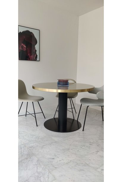 Dining table 2.0 round - ⌀ 110cm - Sand glass