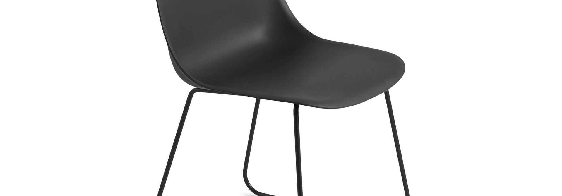 Fiber side chair sled base