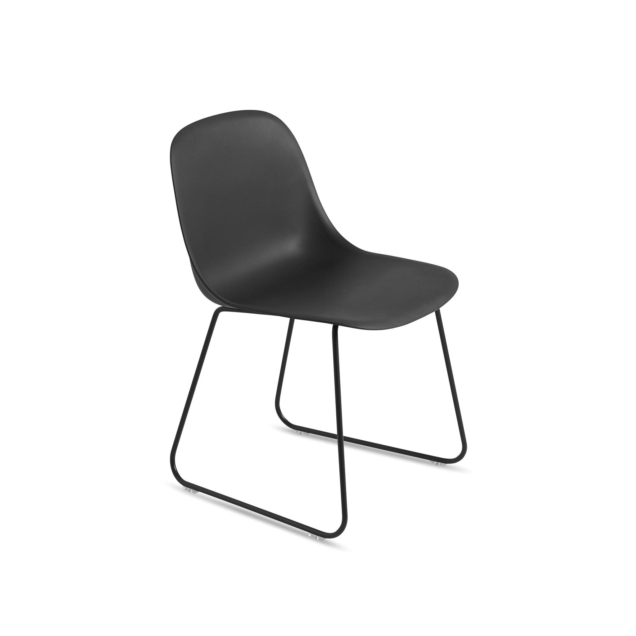 Fiber side chair sled base-1