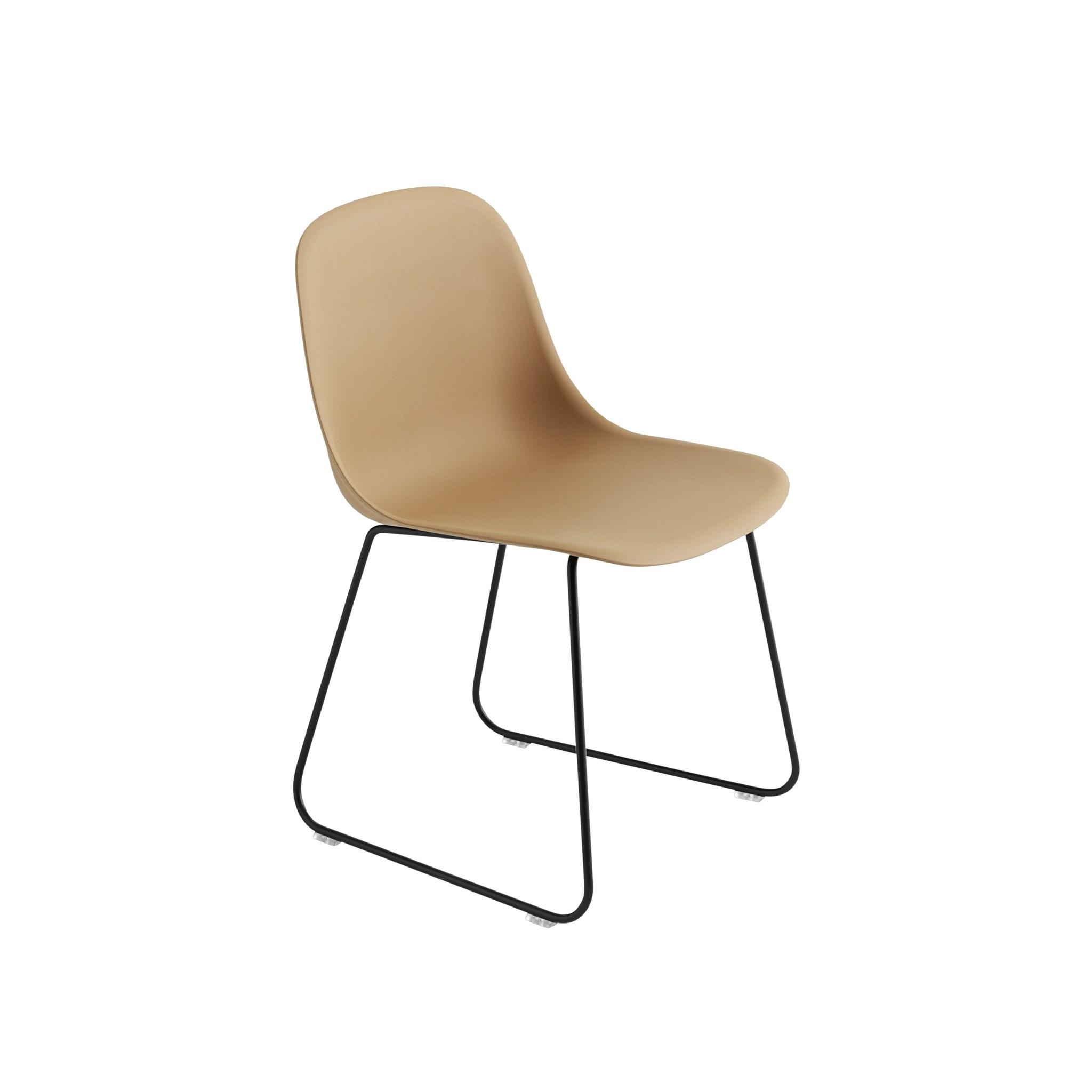 Fiber side chair sled base-4