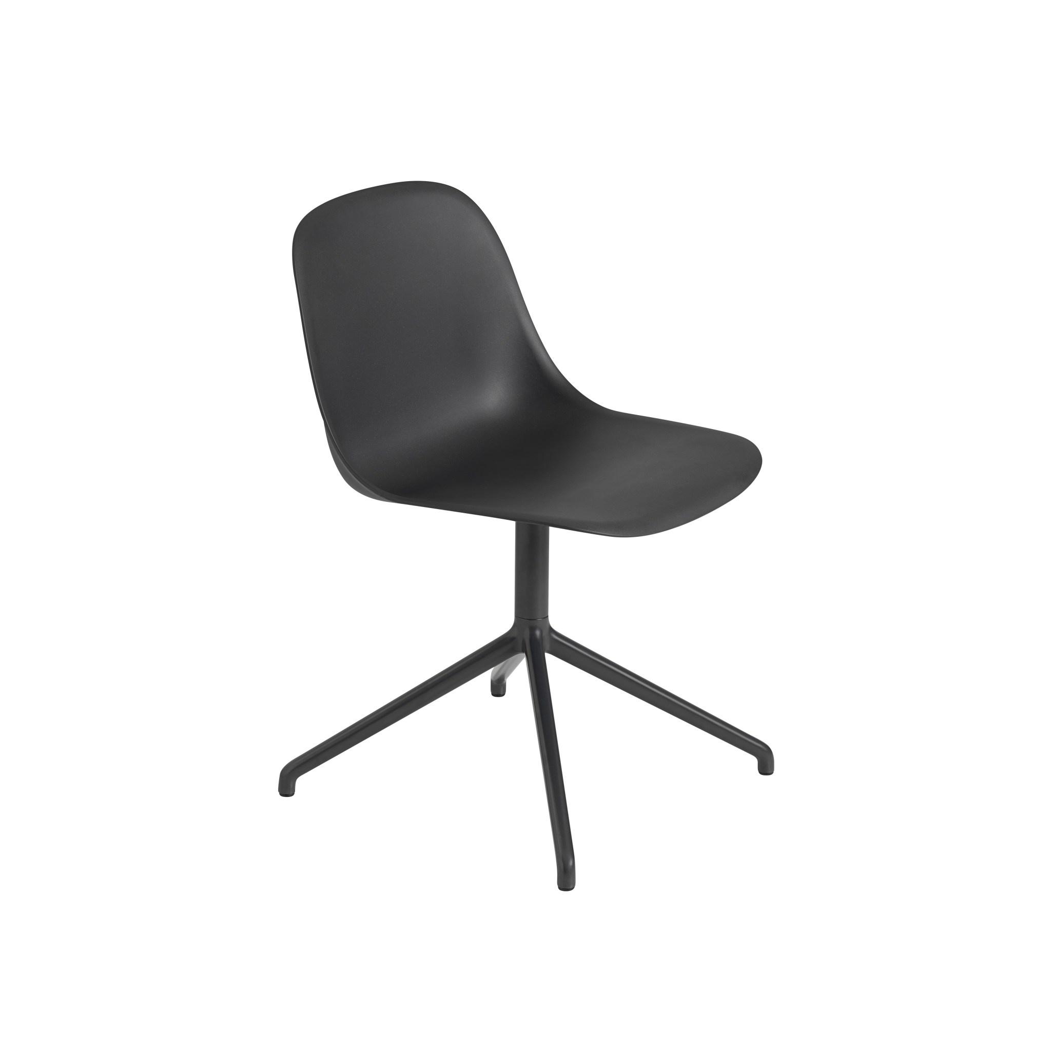 Fiber side chair swivel base w.o. return-3
