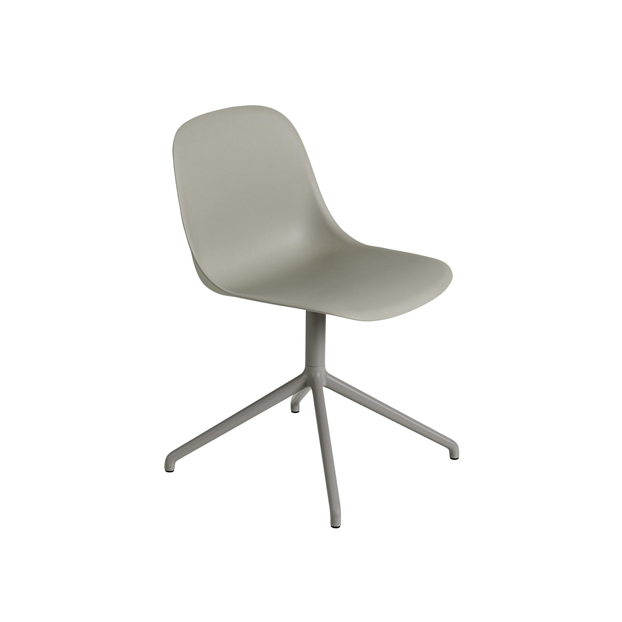 Fiber side chair swivel base w.o. return-4