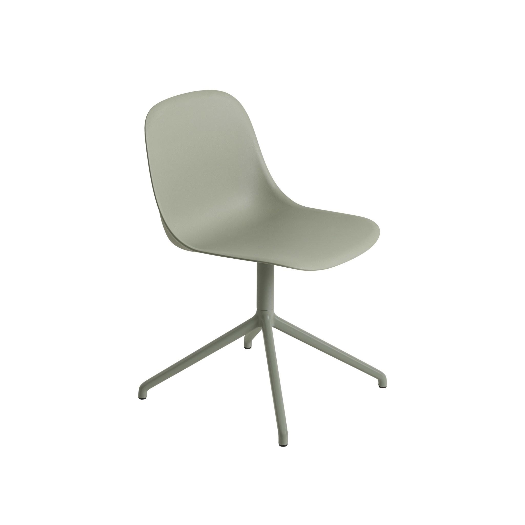 Fiber side chair swivel base w.o. return-5