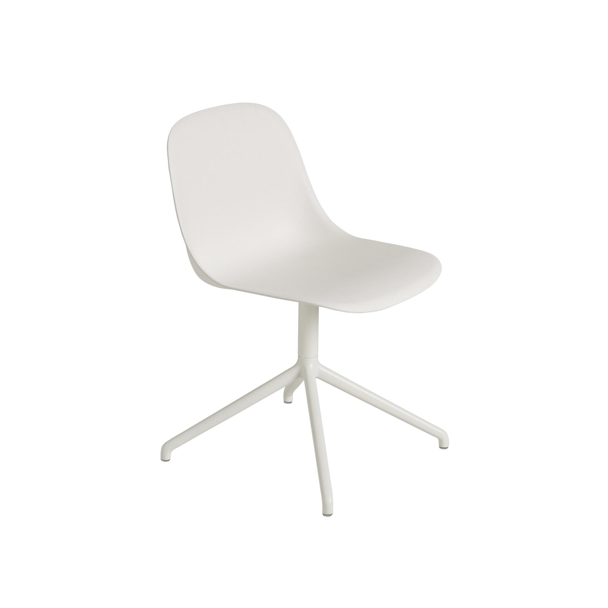 Fiber side chair swivel base w.o. return-6