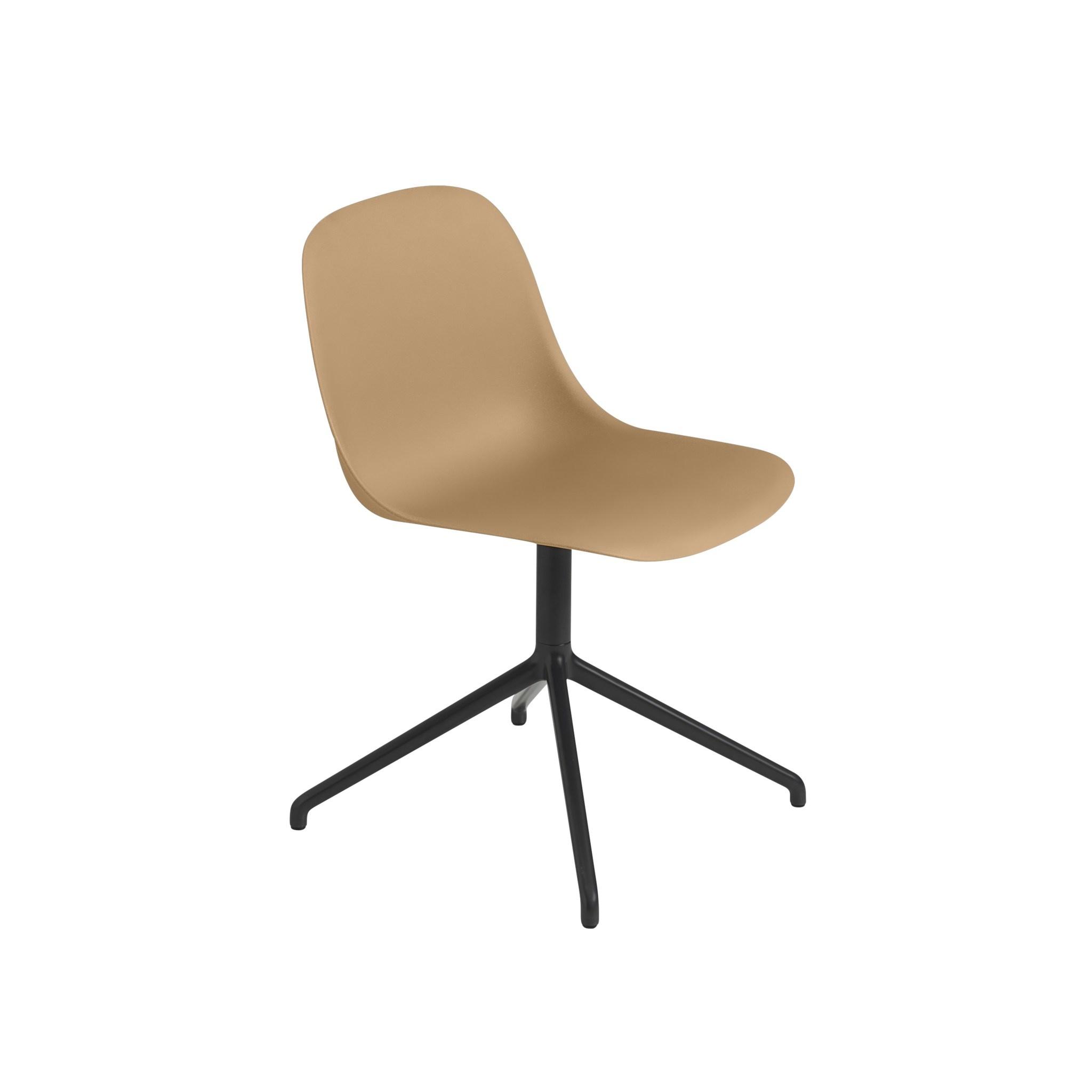 Fiber side chair swivel base w.o. return-1