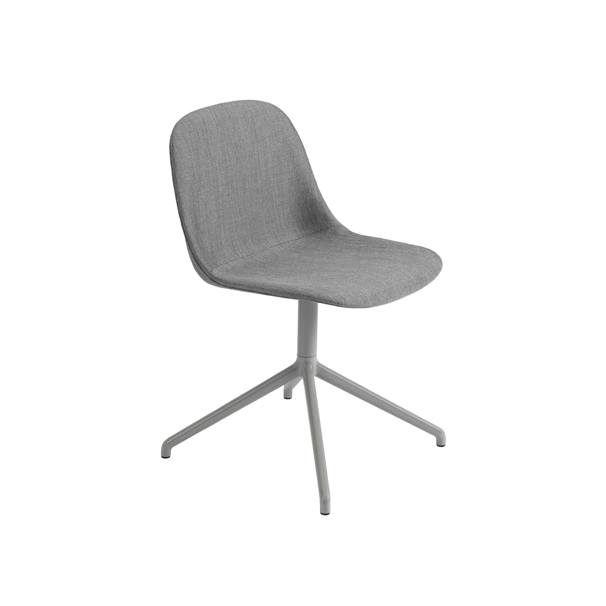 Fiber side chair swivel base w.o. return-7